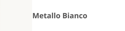 0108 Metallo Bianco